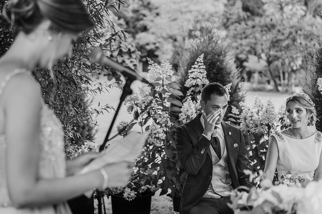 Fotógrafo de bodas Cantabria Marcos Greiz Isa Jose emociones