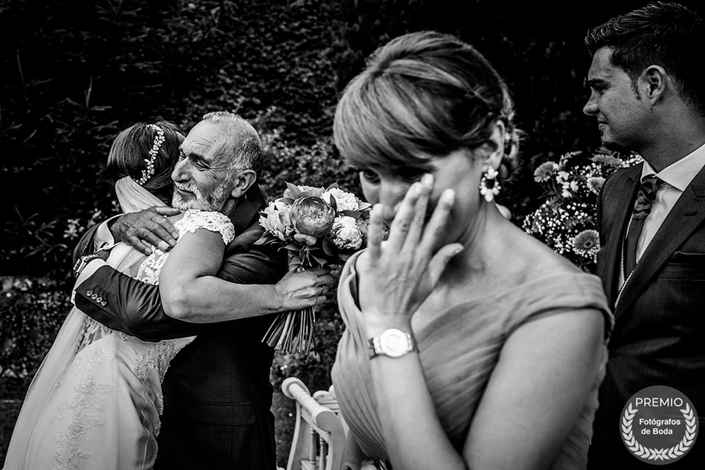 fotógrafo boda Santander feliz día del padre abrazo