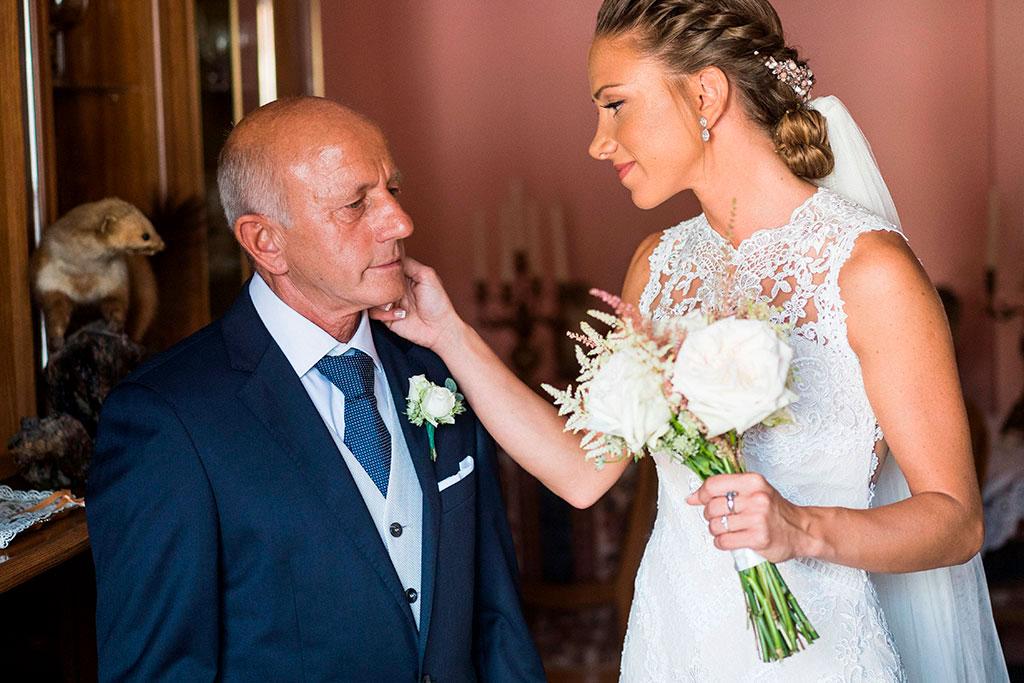 fotógrafo boda Santander feliz día del padre caricia