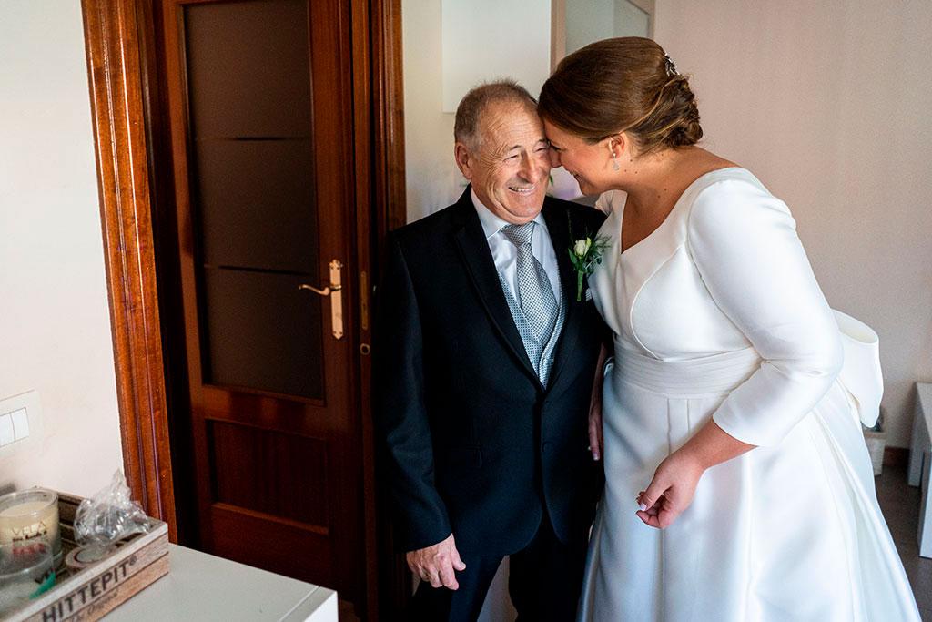 fotógrafo boda Santander feliz día del padre complicidad