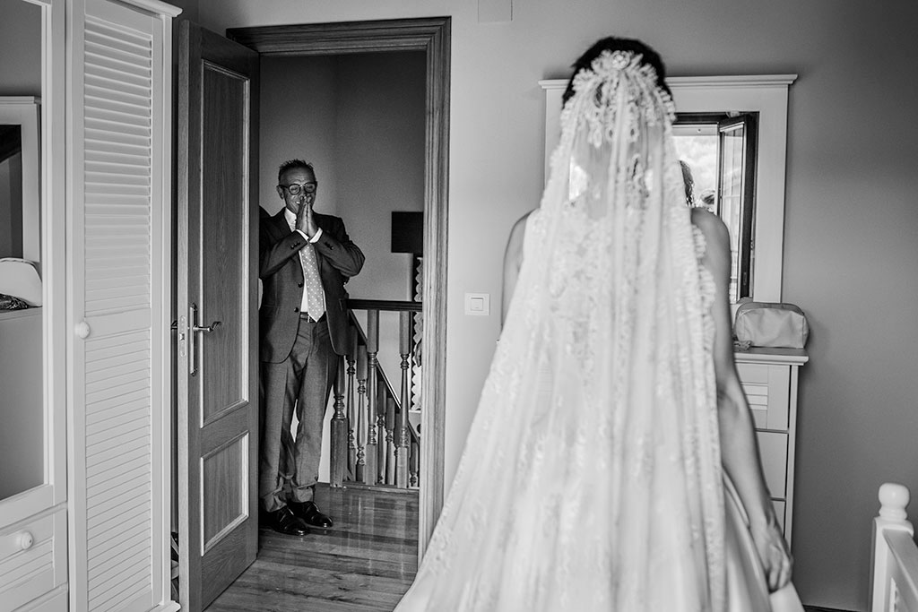fotógrafo boda Santander feliz día del padre emocion