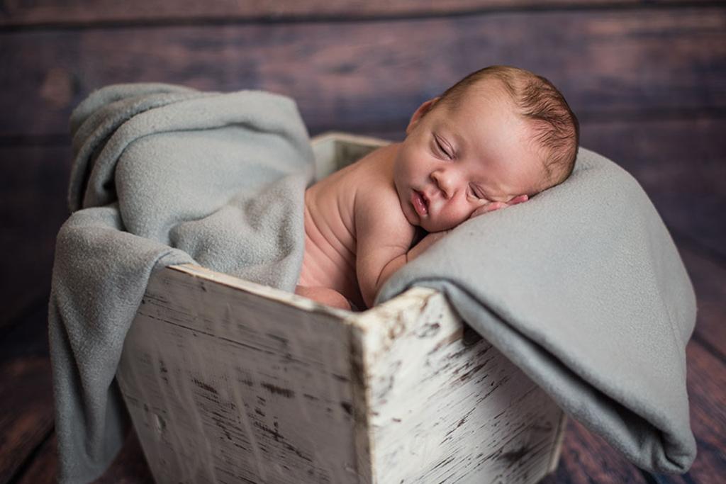 fotos de bebes Santander Oliver caja