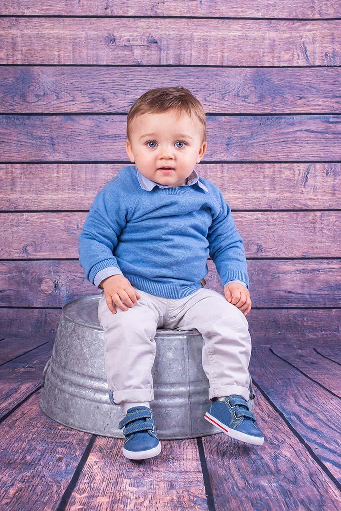 fotos de bebes Santander Oliver cubo