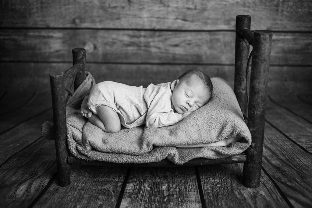 fotos de bebes Santander Oliver dormido
