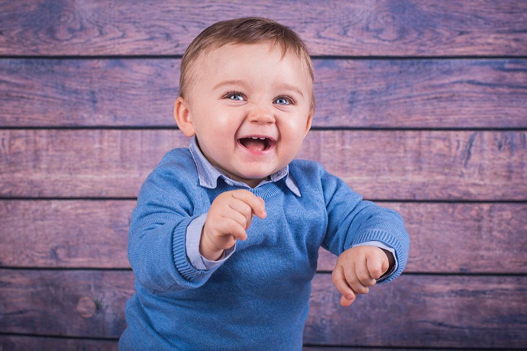 fotos de bebes Santander Oliver risa