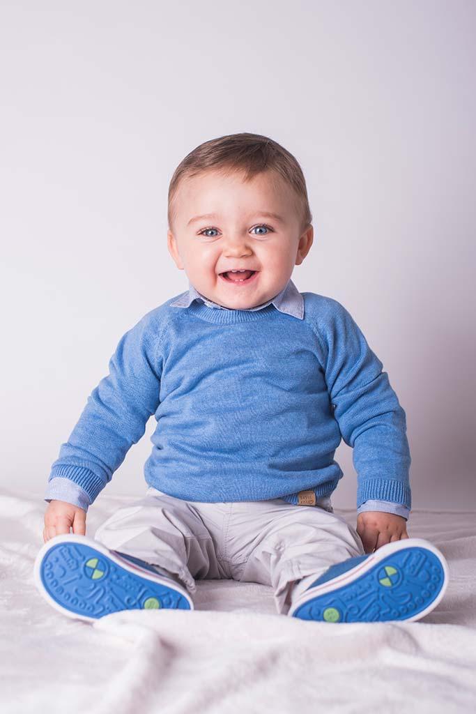 fotos de bebes Santander Oliver sonrisa