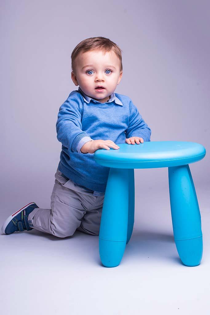fotos de bebes Santander Oliver taburete
