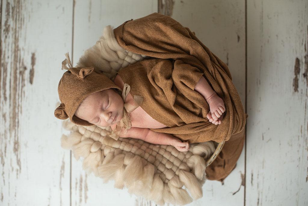 fotos de bebes recién nacidos Santander Cantabria osito