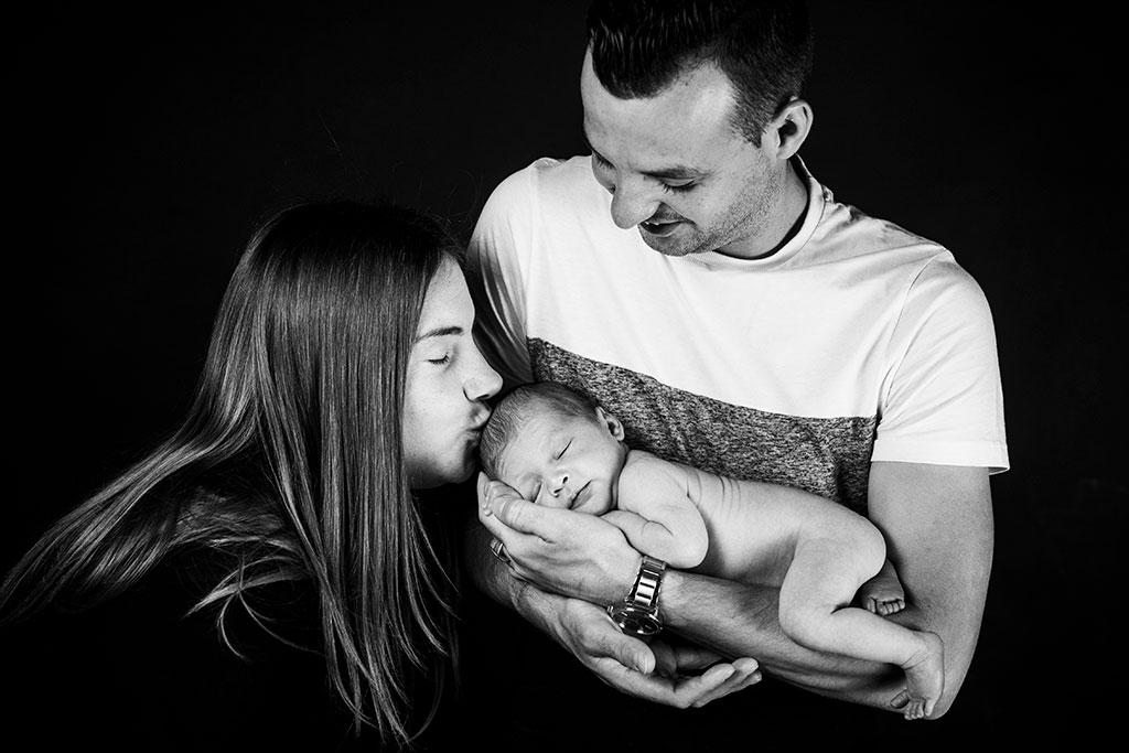 fotos de bebes recién nacidos Santander Cantabria papás