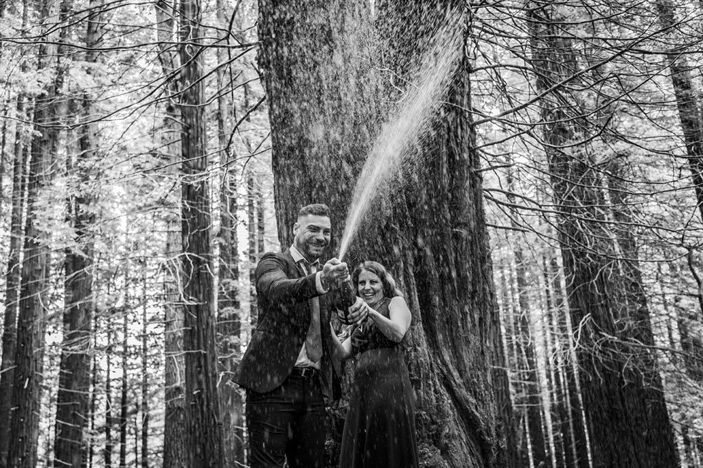 boda íntima en Cantabria Marcos Greiz champang