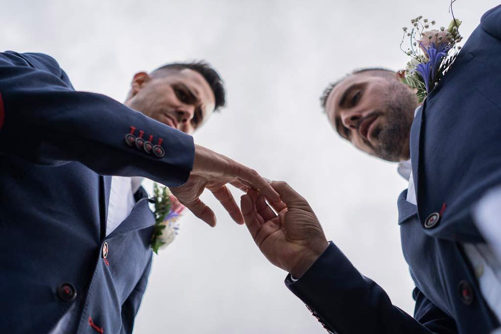 Renovación de votos en Cantabria Marcos Greiz anillos