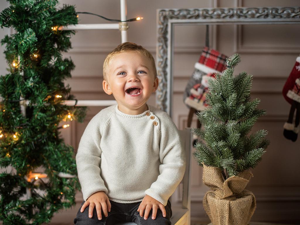 mini sesiones de Navidad Marcos Greiz risas