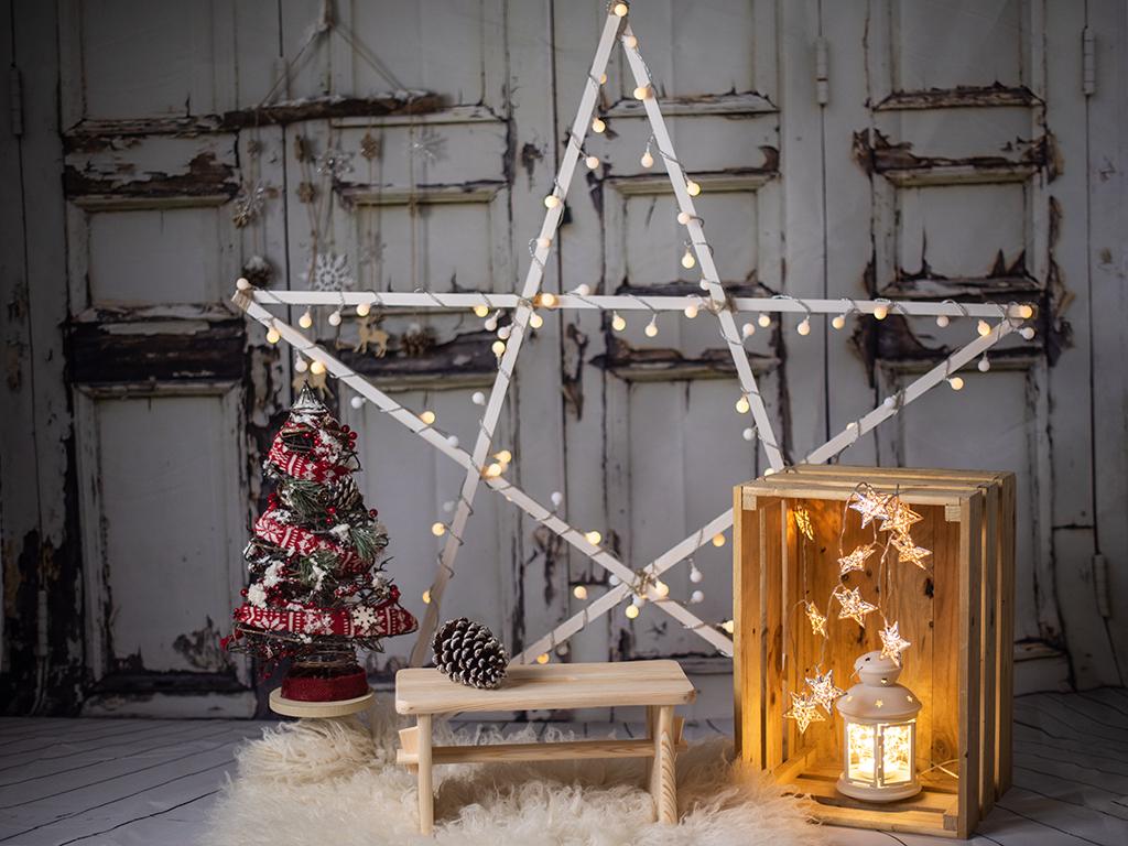 mini sesiones de Navidad Marcos Greiz estrella