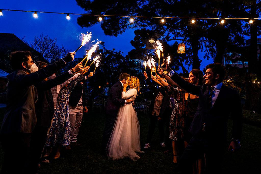fotógrafo de bodas Cantabria Santander covid19 Marcos Greiz bengalas