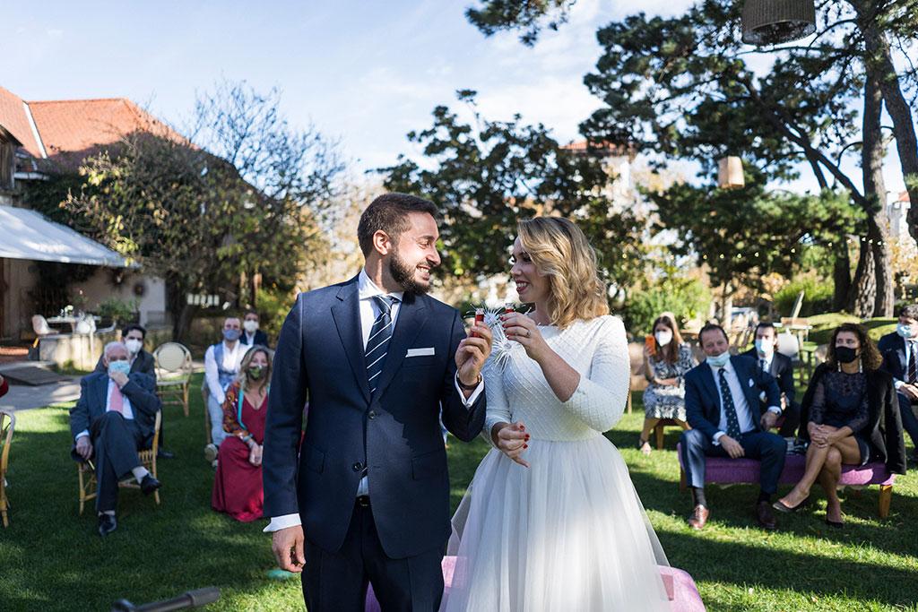 fotógrafo de bodas Cantabria Santander covid19 Marcos Greiz ceremonia