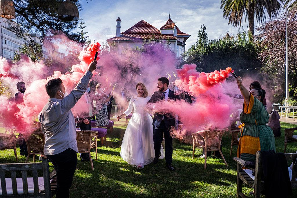 fotógrafo de bodas Cantabria Santander covid19 Marcos Greiz humo