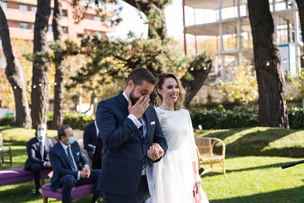 fotógrafo de bodas Cantabria Santander covid19 Marcos Greiz lagrimas