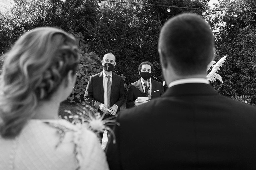fotógrafo de bodas Cantabria Santander covid19 Marcos Greiz oficiantes