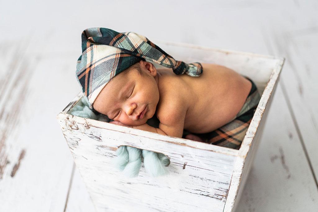 fotógrafo bebes newborn recién nacido Santander caja