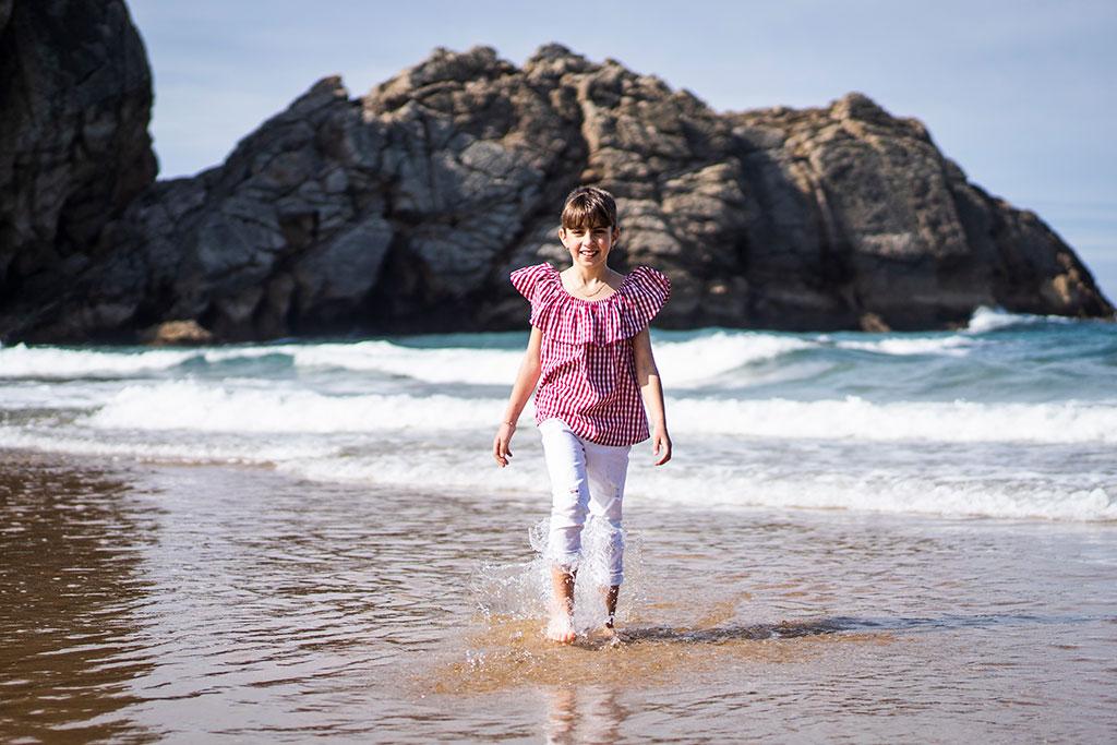 fotografía niños Cantabria Marcos Greiz arnia Aldara Agua