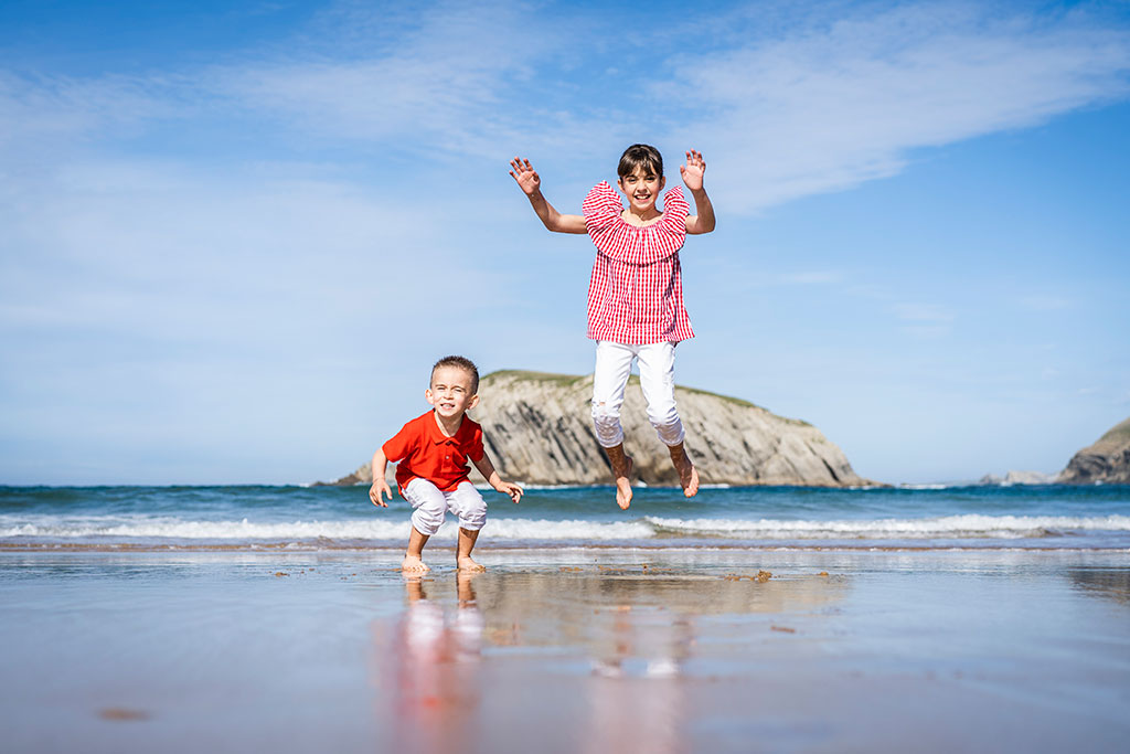 fotografía niños Cantabria Marcos Greiz arnia salto