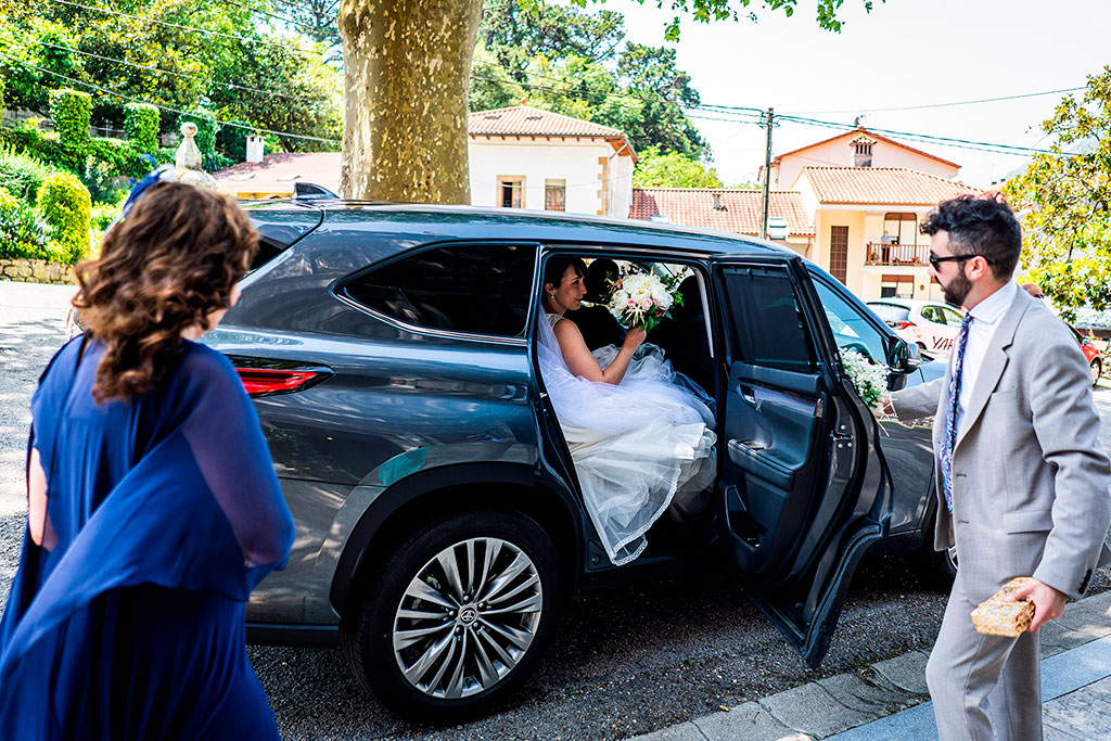 fotografo bodas cantabria marcos greiz coche